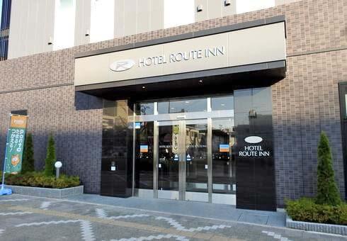 ホテルルートイン東広島西条駅前に人気のビジネスホテル
