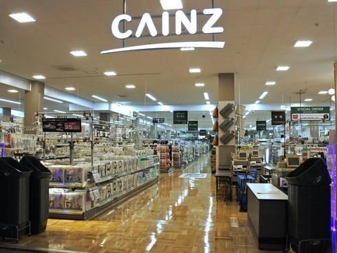 カインズ広島LECT店、店内の様子