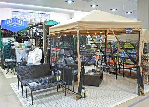 カインズ広島LECT店、アウトドア用品
