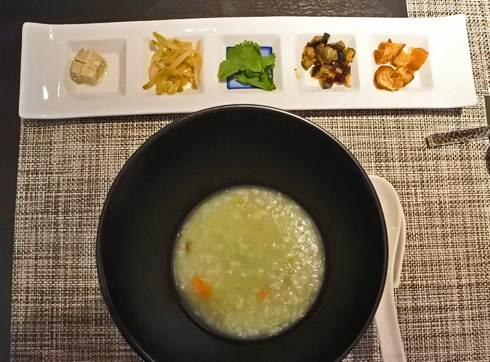 リーガロイヤルホテル広島 チャイニーズダイニング リュウ ランチの粥