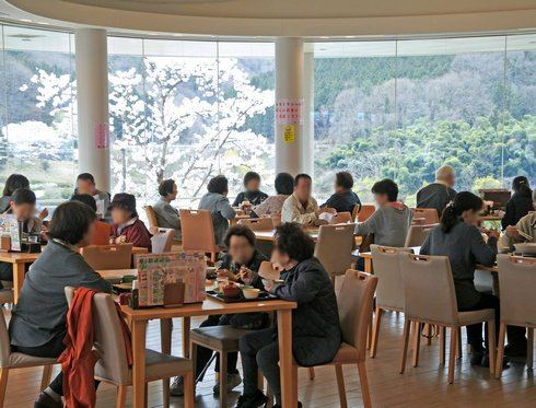 土師ダム 眺めのいいレストラン