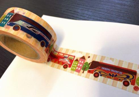 広島版 ご当地マスキングテープ 中国JRバス2