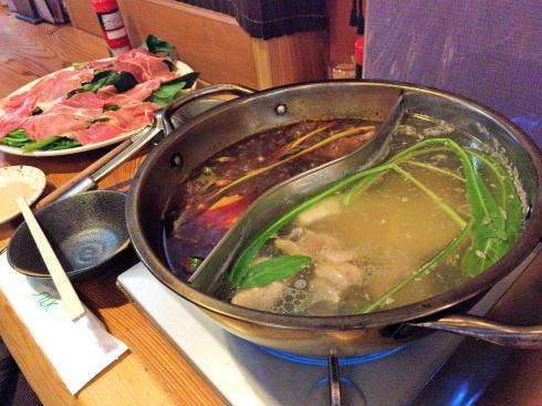 尾道市 中華料理 東方記 火鍋の写真