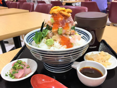 日本橋海鮮丼 つじ半 ぜいたく丼特上