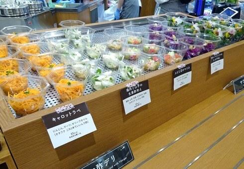 ベジラビットのお酢と野菜でつくるデリ