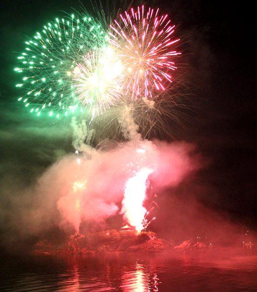 鞆の浦弁天島花火大会 2018、福山の夏が始まる