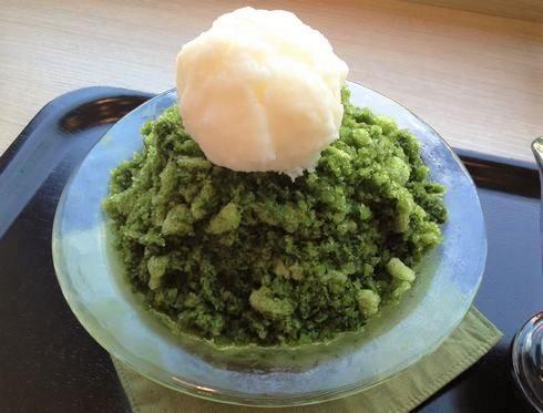 広島市 茶の環本店 かき氷