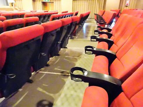 福山駅前シネマモード 座席の写真2