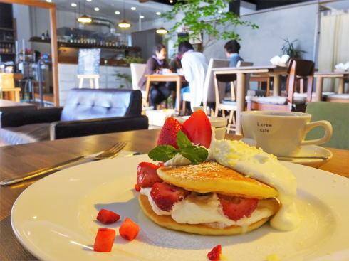 広島可部 エルクルーカフェ、美味スイーツと店内の庭に癒されて