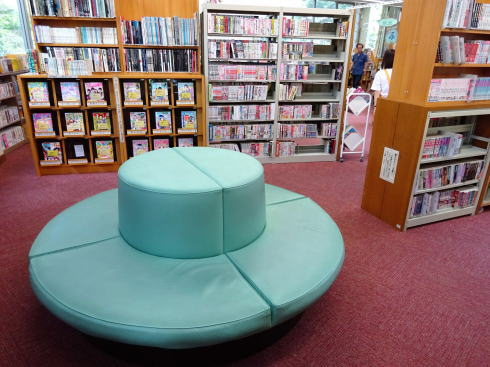 広島市まんが図書館 館内の様子6