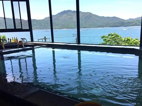 宮浜グランドホテル、大浴場