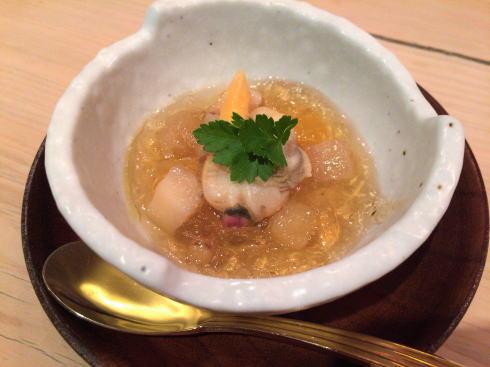 広島市 にかいのおねぎや笹木 酢の物