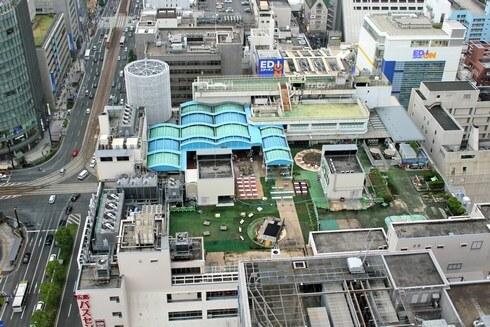 屋上遊園地の無くなった、そごう広島