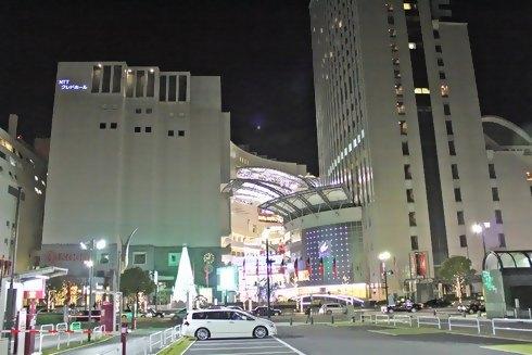 そごう広島 新館と、リーガロイヤルホテル広島