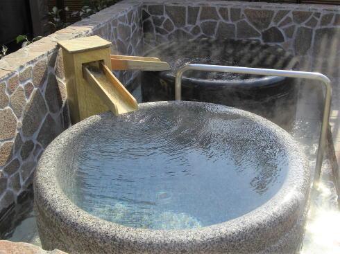ほの湯宇品に水素風呂が登場、独自マシンで男女壺風呂に