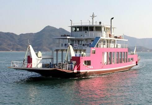 三原~生口島航路を運航していたフェリー「しまなみ」