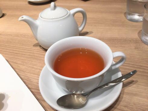 カフェコムサ 福屋広島駅前店 巨峰の紅茶