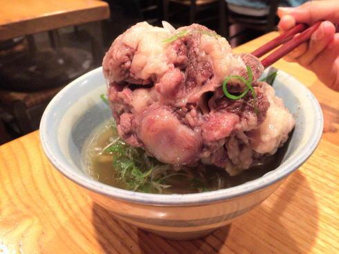 広島市 デンスケ テールスープに潜むぶつ切りテール