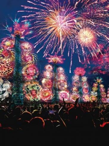 長崎県 ハウステンボスの花火大会