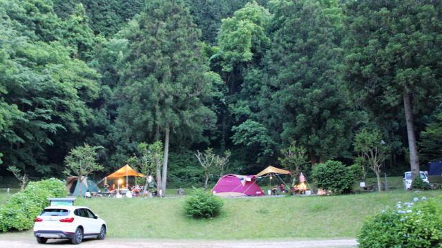 庄原市 ほたる見公園 キャンプサイト