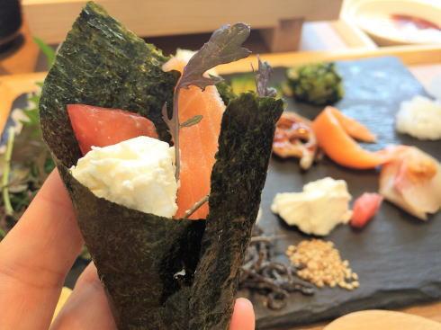 広島市 SUSHIにぎり座 手織り寿司3
