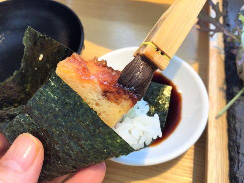広島市 SUSHIにぎり座 手織り寿司4