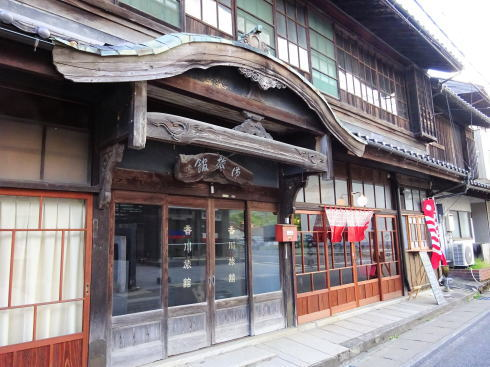 北広島町大朝 つるや食堂(TSURUYA)外観