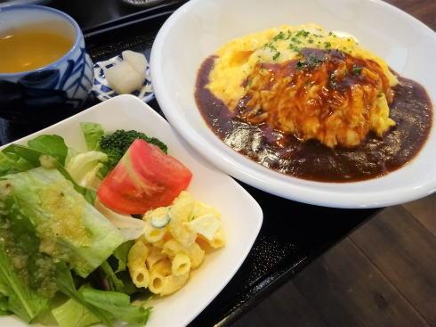 北広島町大朝 つるや食堂(TSURUYA)オムライス