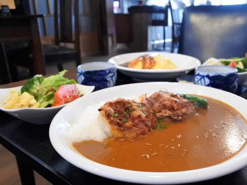 北広島町大朝 つるや食堂(TSURUYA)カレーのランチ