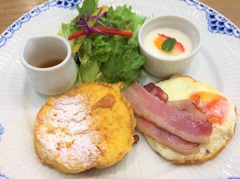 広島アンデルセン 2階カフェ モーニング