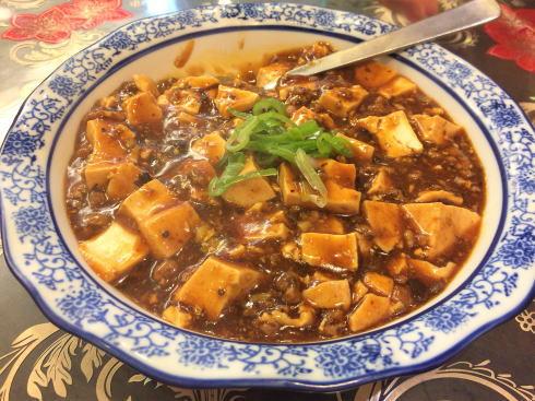 中国料理 恵莉華 麻婆豆腐