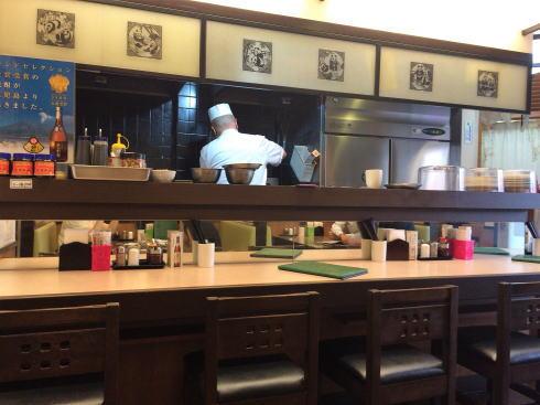 中国料理 恵莉華 店内の様子