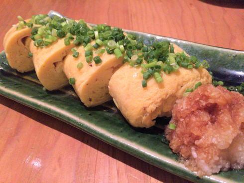 広島市中区 板蕎麦 香り家 だし巻き卵