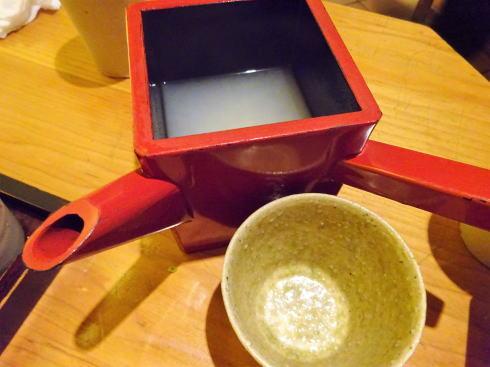 広島市中区 板蕎麦 香り家 蕎麦湯