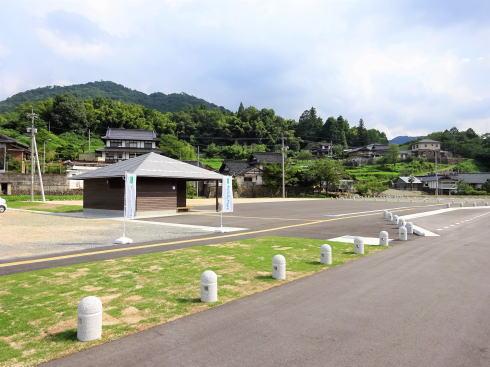 三次市 川西郷の駅 いつわの里 敷地内にはトイレもアリ