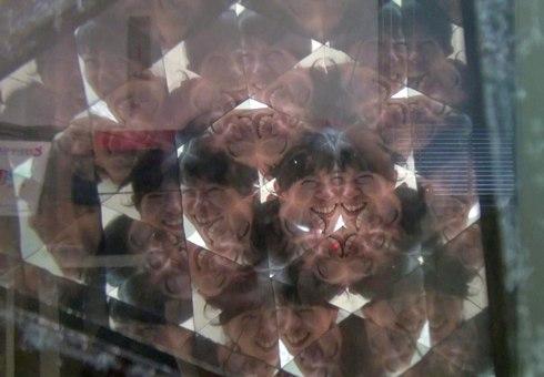 江波山気象館の人間万華鏡