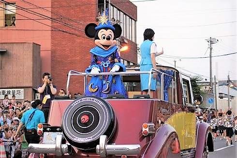三原やっさ祭り ディズニーパレード イメージ画像