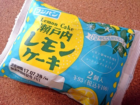 フジパン 瀬戸内レモンケーキ パッケージ