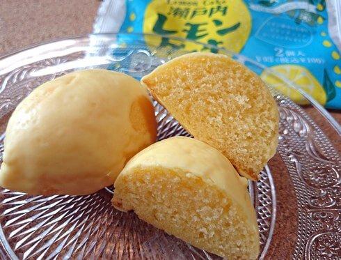 冷やして美味しい、フジパン 瀬戸内レモンケーキ