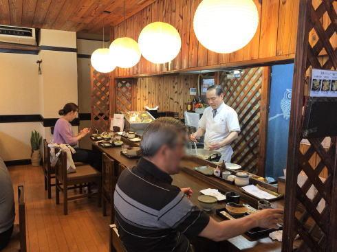 広島市西区 天ぷら食堂田丸 店内の様子3
