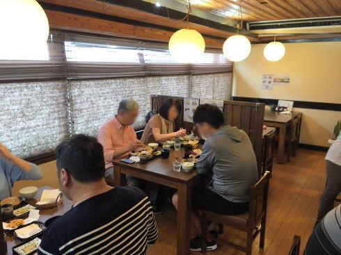 広島市西区 天ぷら食堂田丸 店内の様子