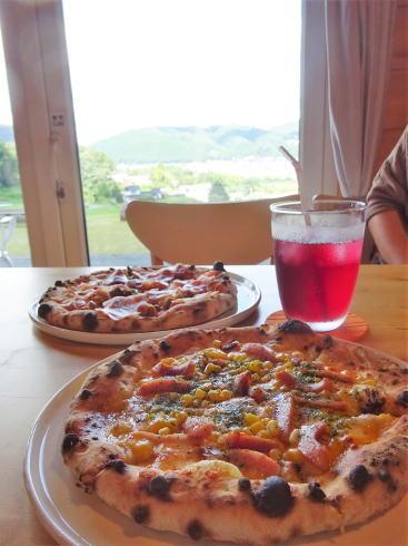 三次市高谷山 ピザ&カフェ ブリーゼのピザ