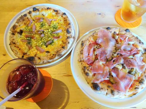 三次市高谷山 ピザ&カフェ ブリーゼ のピザ2