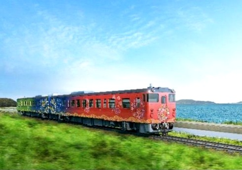 山口観光列車「〇〇のはなし」運行開始!山陰・日本海眺める絶景列車
