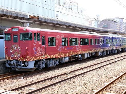 〇〇のはなし、山口観光列車 運行開始!山陰・日本海眺める絶景列車