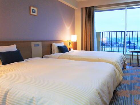 ベッセルホテルカンパーナ沖縄の室内