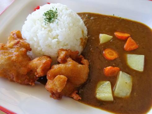 シーサイドカフェ アルファ 呉海自カレー提供2