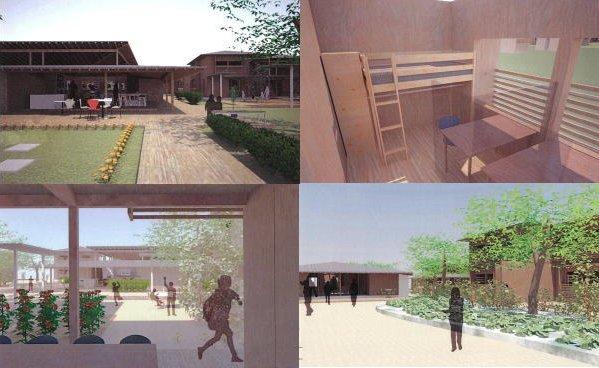 広島叡智学園の寮
