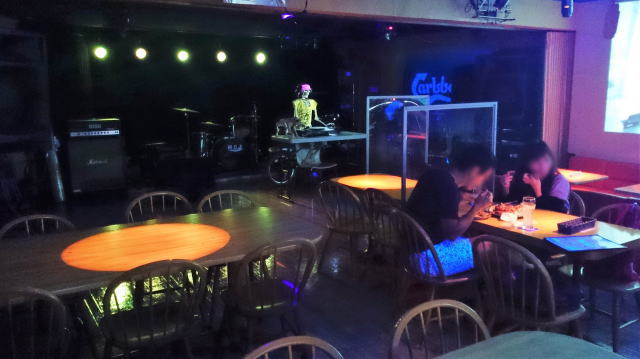 呉市 メンフィスギャングカフェ 店内の様子3