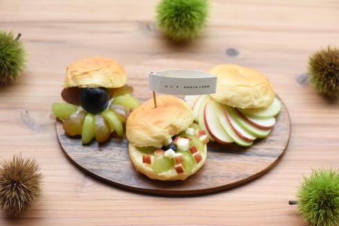 八天堂×平田観光農園コラボ「スイーツバーガー」果物狩りとセットでいかが
